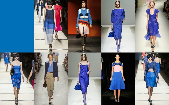 Dazzling Blue FCR Spring 2014 Pantone Collections