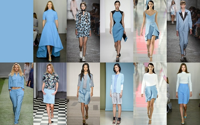 Palid blue FCR Spring 2014 Pantone Collections